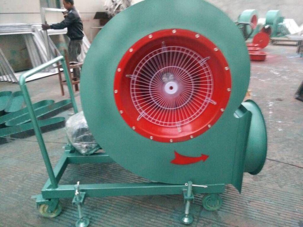 风机内部实体电动机结构图